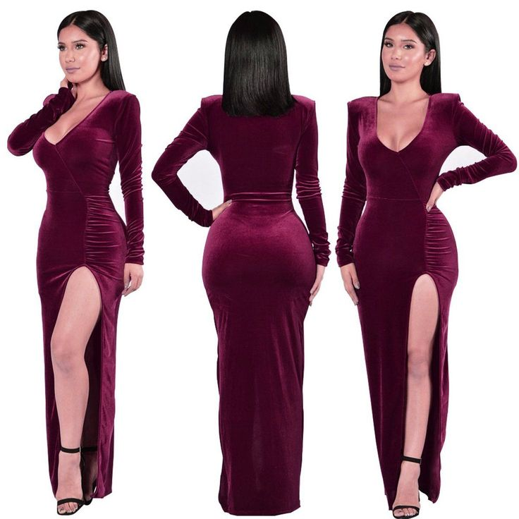 http://www.ebay.com/itm/New-Womens-Long-Velvet-Evening-Cocktail-Party-Formal-Bridesmaid-Prom-Gown-Dress/302126879377?_trksid=p2045573.c100508.m3226