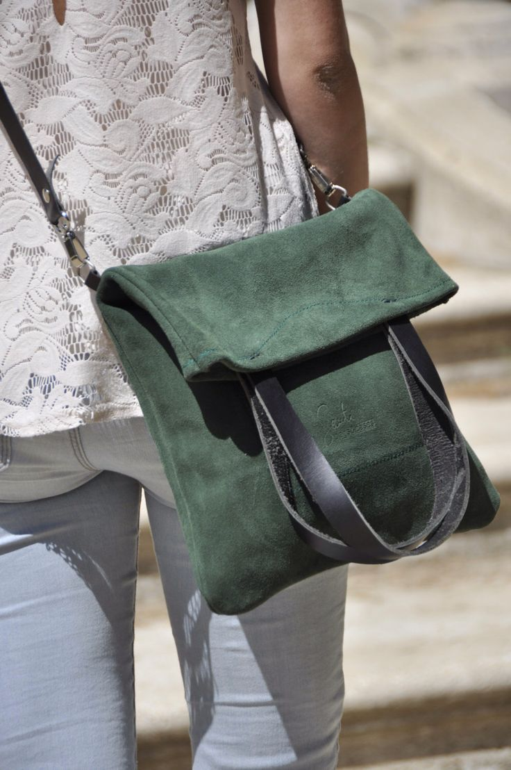 OFFER Leather bag green leather bag woman bag crossbody bag tote bag everyday bag casual bag custom tote bag by SANTIbagsandcases on Etsy https://www.etsy.com/listing/190663625/offer-leather-bag-green-leather-bag