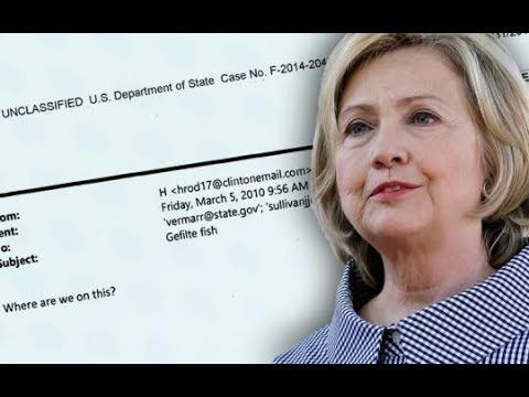 HILLARY CLINTON EMAIL INDICTMENTS TAKING PLACE DURING TRUMP FIRST TERM: ...