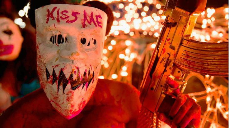 Mascara disfraz de la purga 3