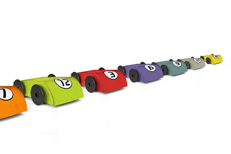 Cardboard Toy Car  100% recycled aquapotabile.com