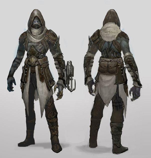 Dark Elf Assassin by Ubermonster.deviantart.com