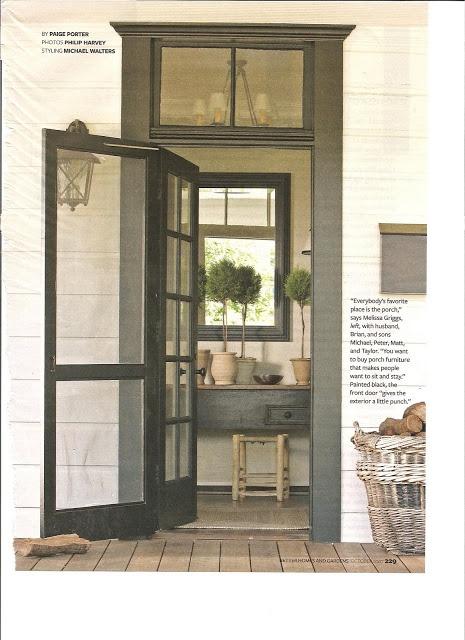 dark entry door with transom