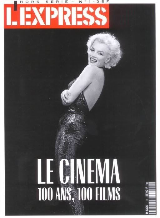 L Express Hors Serie - 1992, magazine from France. Front cover photo of Marilyn Monroe by Richard Avedon, 1957