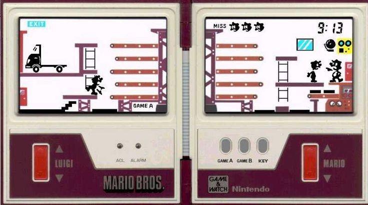 Mario Bros (1983) Nintendo Game & Watch - Multi-screen Series