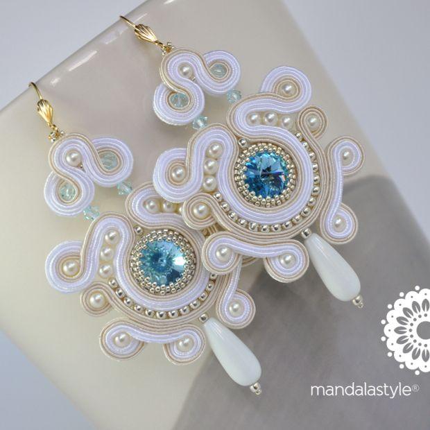Soutache_white_bridal_earrings
