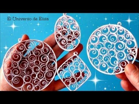 10 Adornos Navideños con tubos de papel higiénico - (Reciclaje) Ecobrisa DIY - YouTube