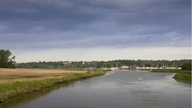 Experts believe there are a number of further Anglo Saxon royal burial sites awaiting discovery along the River Deben