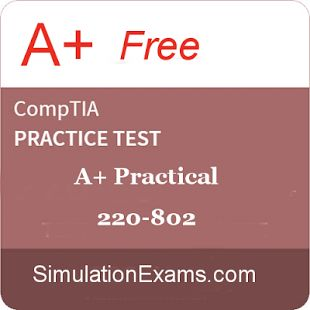 For free A+ 220-802 practice tests visit: https://play.google.com/store/apps/details?id=com.anandsoft.apluspract