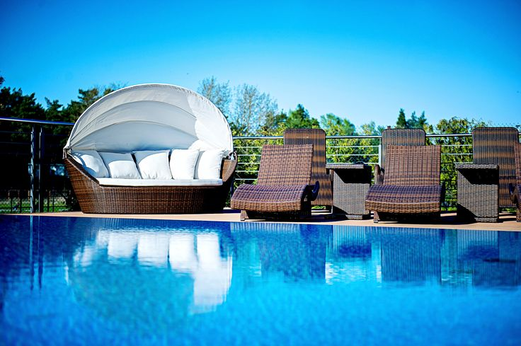 Outdoor pool #spa #hotel #pool #relax #wellness