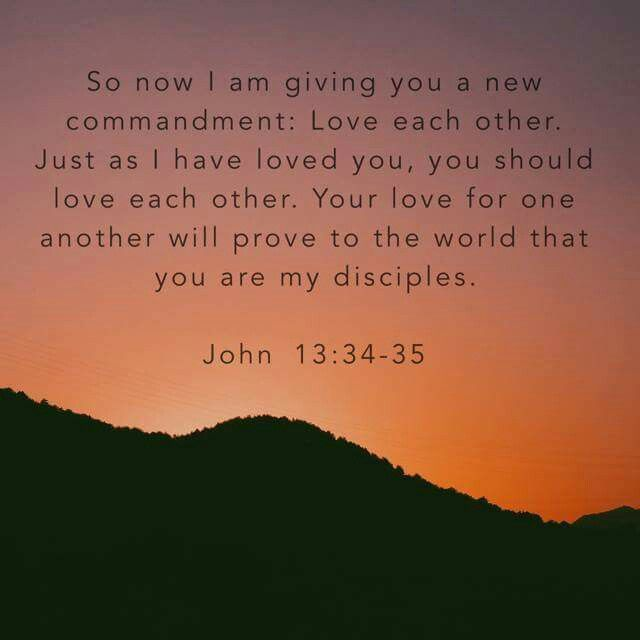 Love Each Other As I Have Loved You: 25+ Best Ideas About John 13 34 On Pinterest