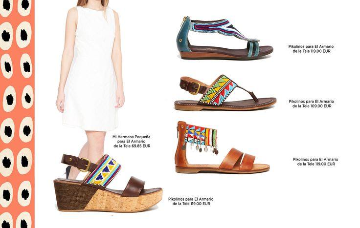 Sandalias de inspiración étnica. Descubre los imprescindibles en tu maleta de verano en nuestra tienda online.