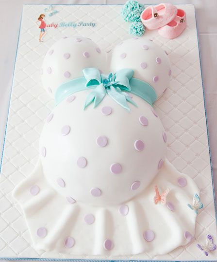 Baby Shower Belly Cakes | Belly Cake von Cake Art & Design. © Baby Belly Party