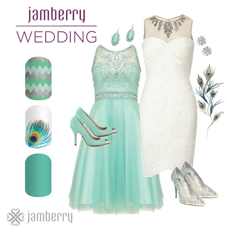 Having a modern style wedding? Jamberry has all the styles of nail wraps you need to complete your look in style! Shop now at http://kellieparker.jamberry.com
