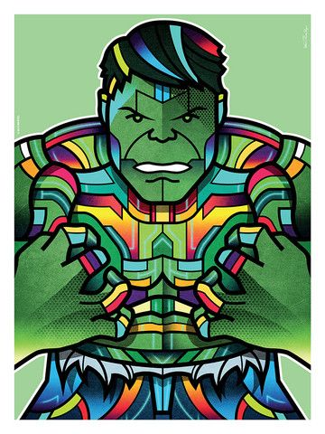 """Avengers Portraits: Hulk"