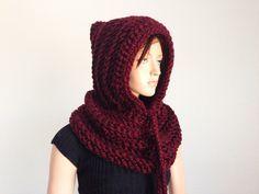 Tutorial: How to Crochet a Hooded Neckwarmer Using Double Crochet