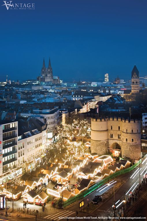 Cologne, Germany - Switzerland & the Heart of the Rhine & Moselle #Germany #travel