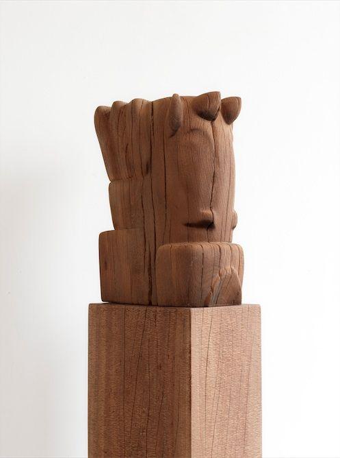 Mathieu Nab Sculptures I Modern Art Book I Photography by Frank Brandwijk I Interior 'Wood'