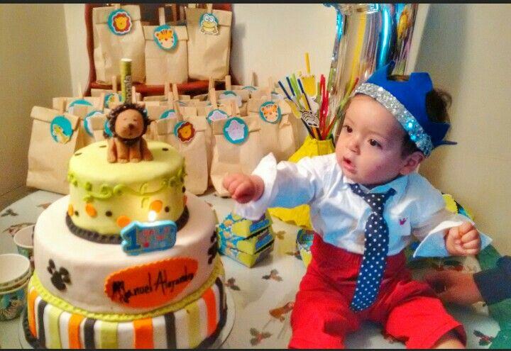 Manu y su torta