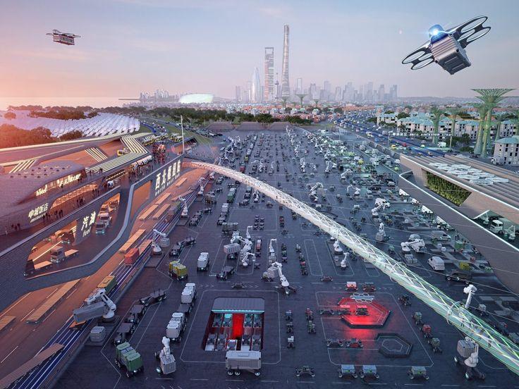 Daimler Logistics Future Scenarios Logistics