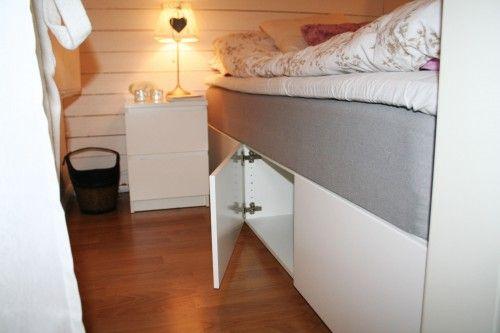 sovalkov förvaring under sängen