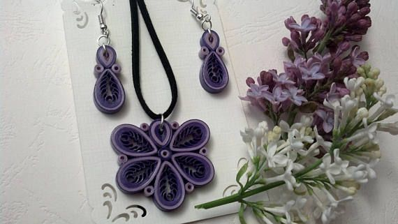 Hey, I found this really awesome Etsy listing at https://www.etsy.com/listing/523015864/quilling-jewelry-set-paper-jewelry