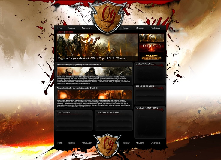 OG Gaming - Website Design by Xtreme360.com