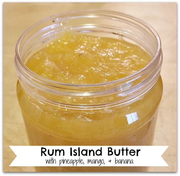 Rum Island Butter — Morsels & Moonshine---  (has an apple butter consistency)