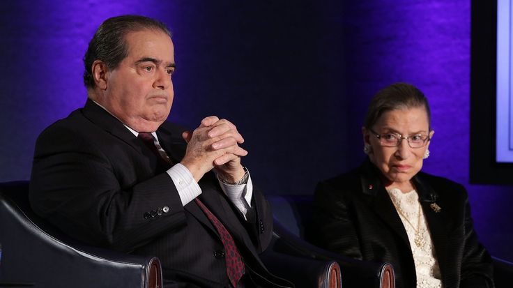 Justice Ruth Bader Ginsburg and the late Justice Antonin Scalia were ideologically at the opposite ends of the Supreme Court bench. Despite their dissenting opinions, they were also great friends.