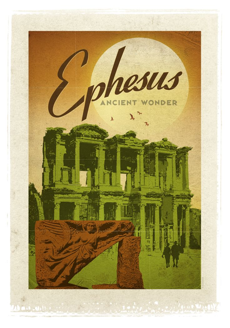 The ancient city of Ephesus has one of the wonders of the Ancient World.