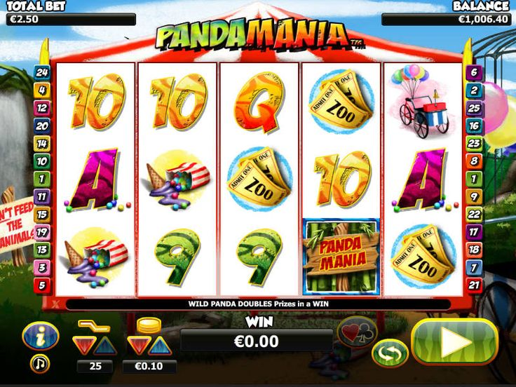 Pandamania - http://freeslots77.com/pandamania/ - Want to play an animal-themed online slot game featuring some symbols of cute pandas? Start playing free Pandamania online slot game and enjoy a trip to the zoo. Developed by NYX, the five-reel and twenty-five-payline slot game will make you feel like you are at a zoo-like landscape featuring...