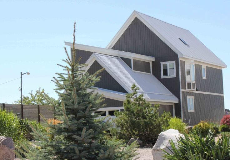 Best Grey Metal Roof Residential Metal Roofing And Siding 400 x 300