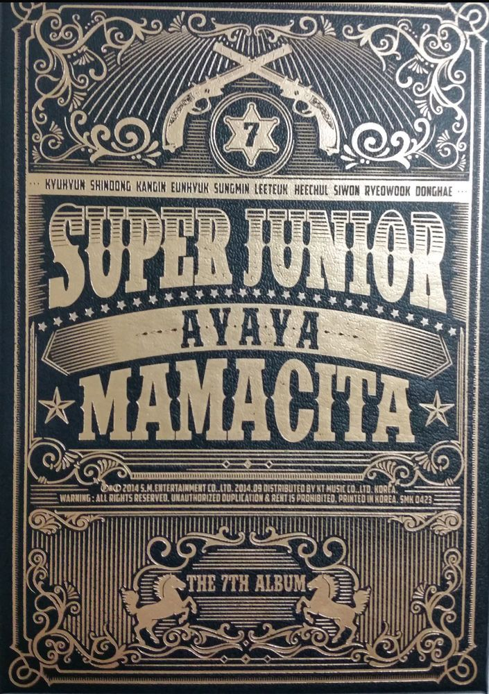 Super Junior MAMACITA 7th Album Official CD K-POP