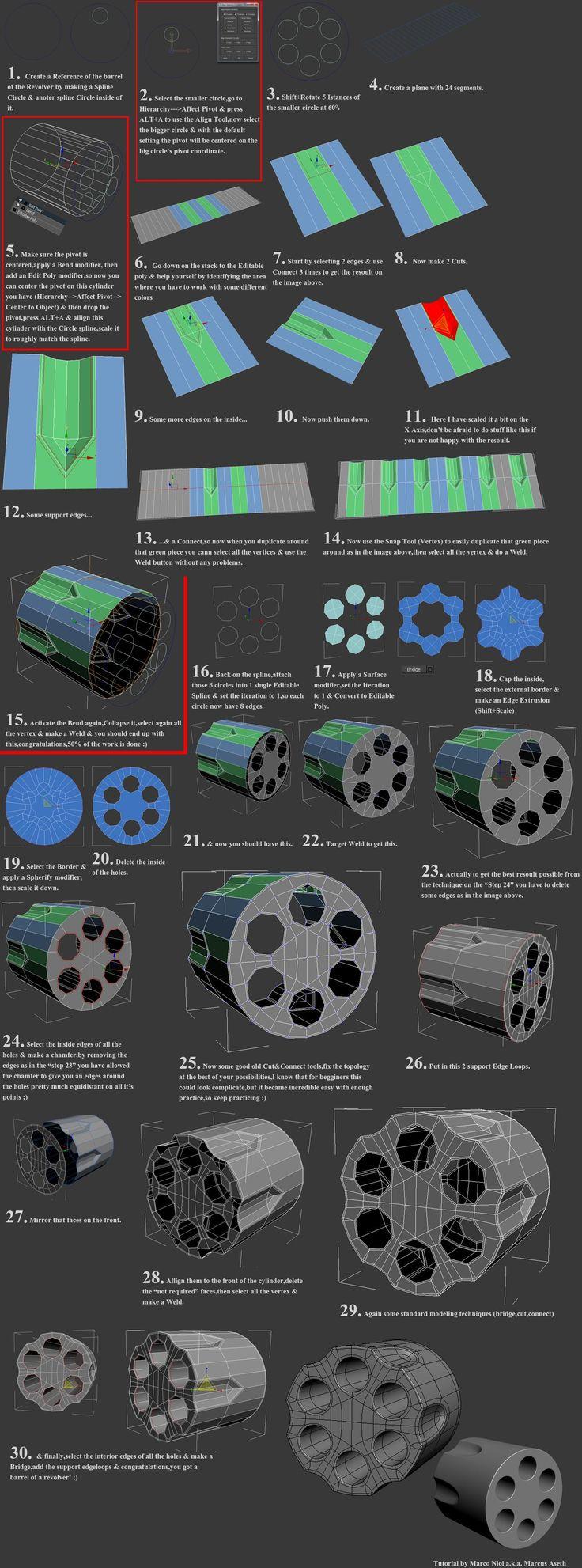 FAQ: How u model dem shapes? Hands-on mini-tuts for mechanical sub-d AKA ADD MORE GEO - Page 117 - Polycount Forum