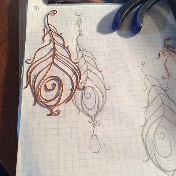 Tremendous brillant paon plume Pierre suncatcher, pendaison de cristal de Swarovski de fil artwork, décoration de jardin patio fenêtre d'accueil de décor