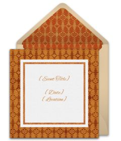 Tons of free Fall party invitations. We love this stylish design for a Fall dinner party to celebrate the harvest season.