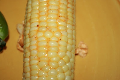 Corn on the Cob with Spicy paprika butter