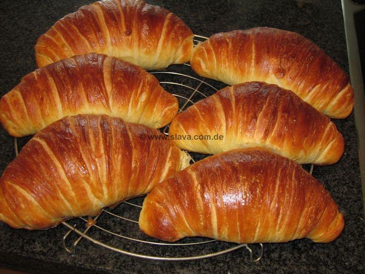 """Slavas hausgemachte Monster-Croissants « kochen & backen leicht gemacht mit Schritt für Schritt Bilder und """"schmeckt-lecker-geling-Garanti..."""