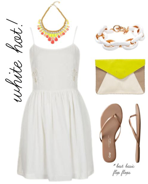 White Hot Summer Outfit