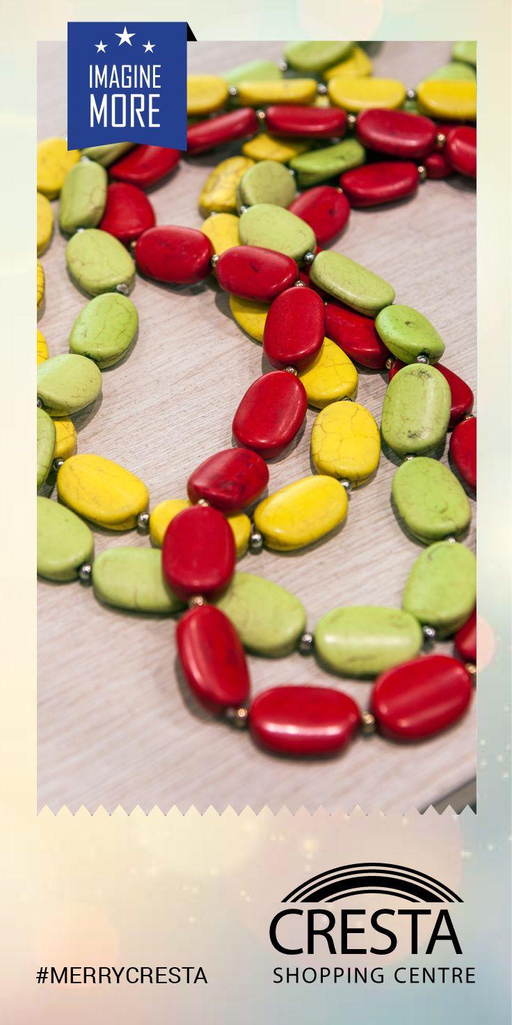 Bead Stone Necklaces from Lovisa Cresta Centre @ R80.00 #MerryCresta #BEads #Colour #Necklace