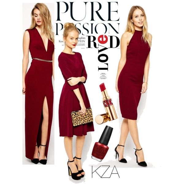 Red-y to go?  Red dress never go wrong! Check out my polyvore for more ideas!