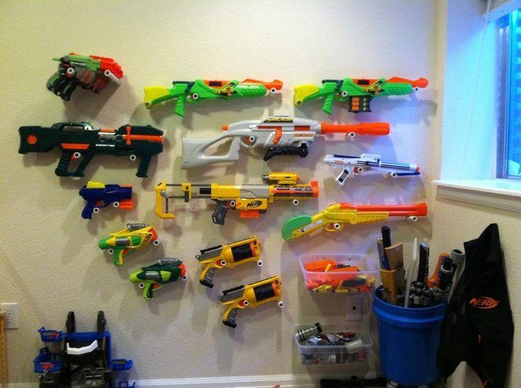 Nerf Gun Arsenal Nerf Gun Arsenal | Org...
