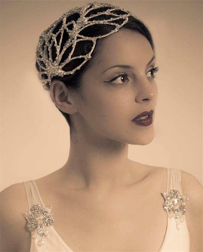 Vivien Sheriff - Ginseng Headpiece. #passion4hats