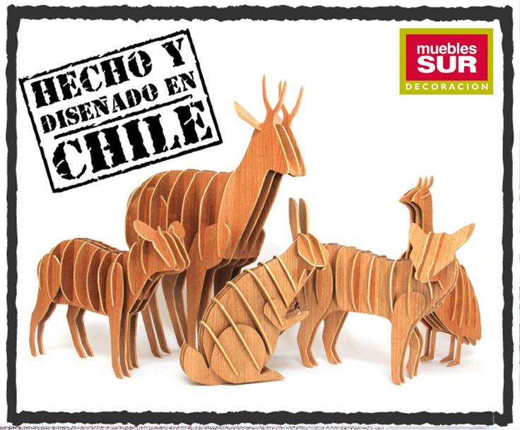 Un pequeño homenaje a nuestros animales chilenos en peligro de extinción. Compra consciente y dile #NoAlMaltratoAnimal Encuentra estos animalitos en #MueblesSur y #SurDiseño. http://www.mueblessur.cl/  http://www.surdiseno.cl/