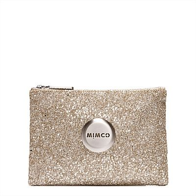 Mimco SPARKS FLY POUCH in 'Pancake'
