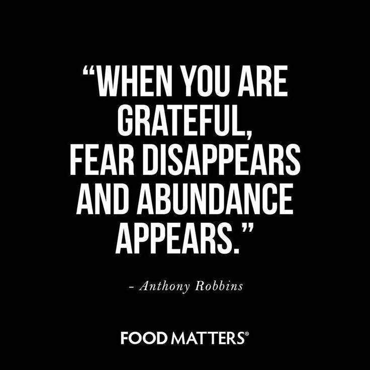 Gratitude changes everything!  #foodmatters #FMquotes www.foodmatters.tv