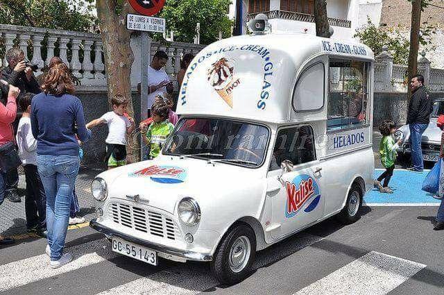 46cfa7cc32 Spanish Mini Ice Cream Van