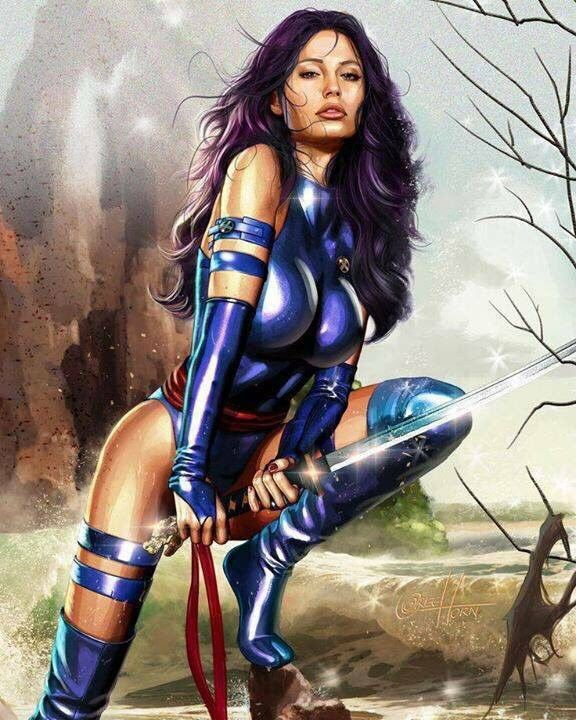 Pyslocke of The X-Men.