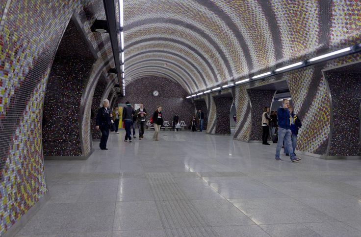 Gellért tér at Metro 4, Budapest  http://www.budapestwithus.hu/a-fuzold-a-negyes-metro/