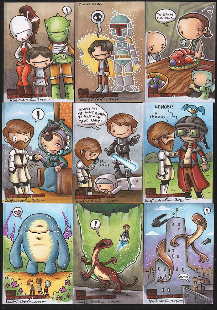 rise of the bounty hunter 1 by katiecandraw on DeviantArt